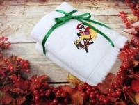Новогодний набор полотенец Дед Мороз