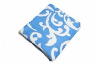 Одеяло Хлопок100% арт.3-2 (голуб. завиток)