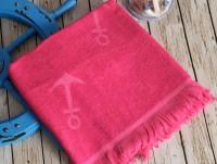 SEASIDE Fuchsia (фуксия) полотенце пляжное